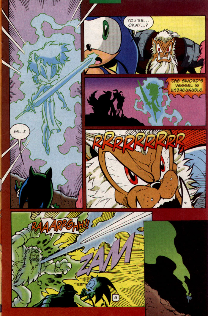 Sonic - Archie Adventure Series October 2001 Page 10