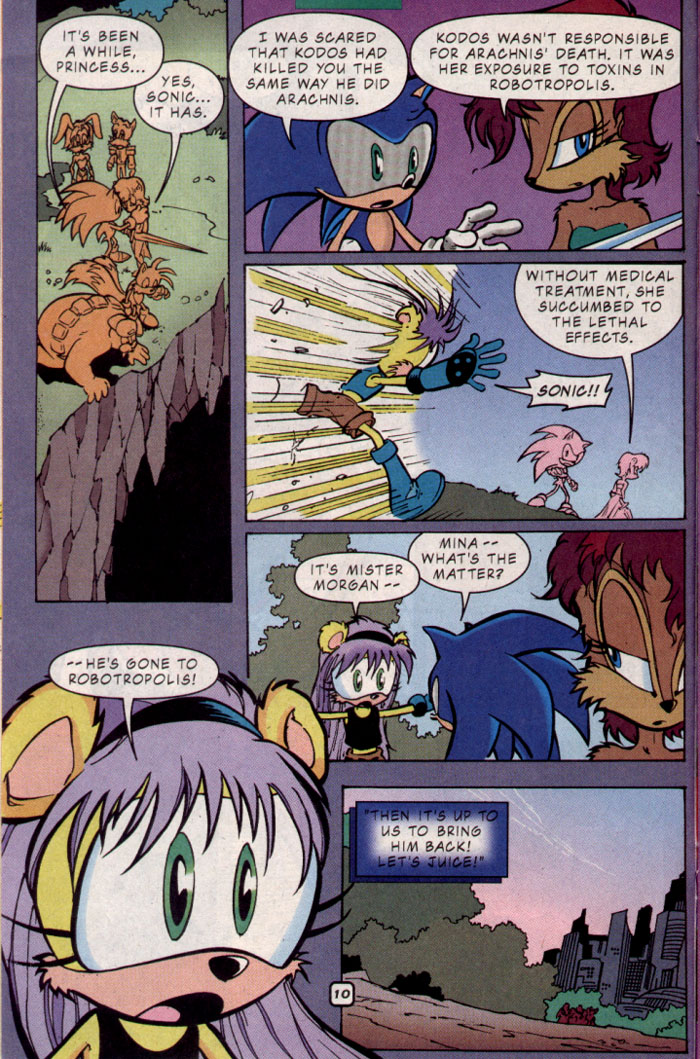 Sonic - Archie Adventure Series October 2001 Page 11