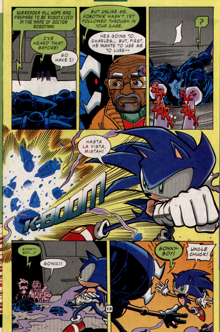 Sonic - Archie Adventure Series October 2001 Page 14