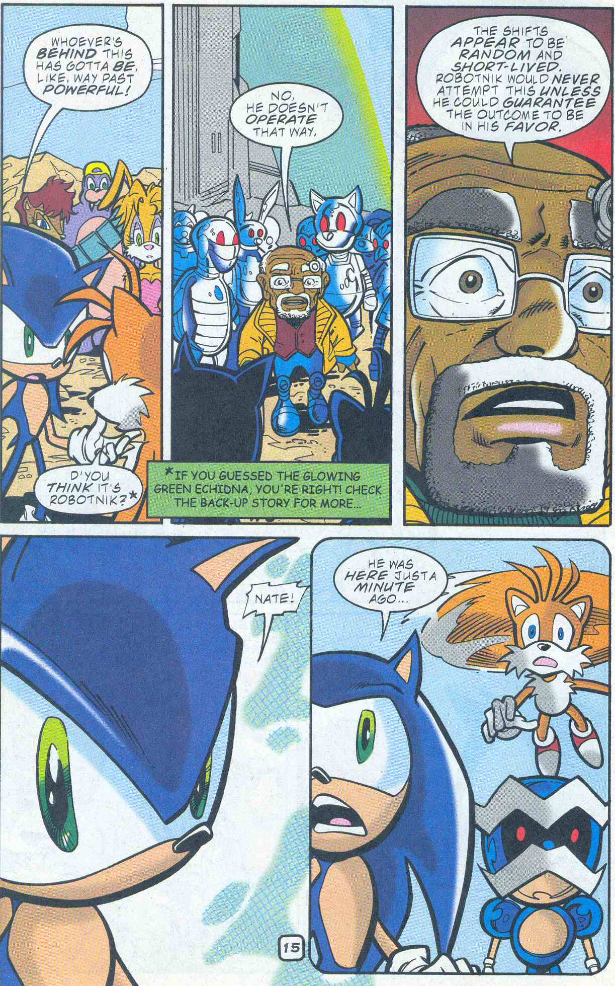 Sonic - Archie Adventure Series November 2001 Page 15