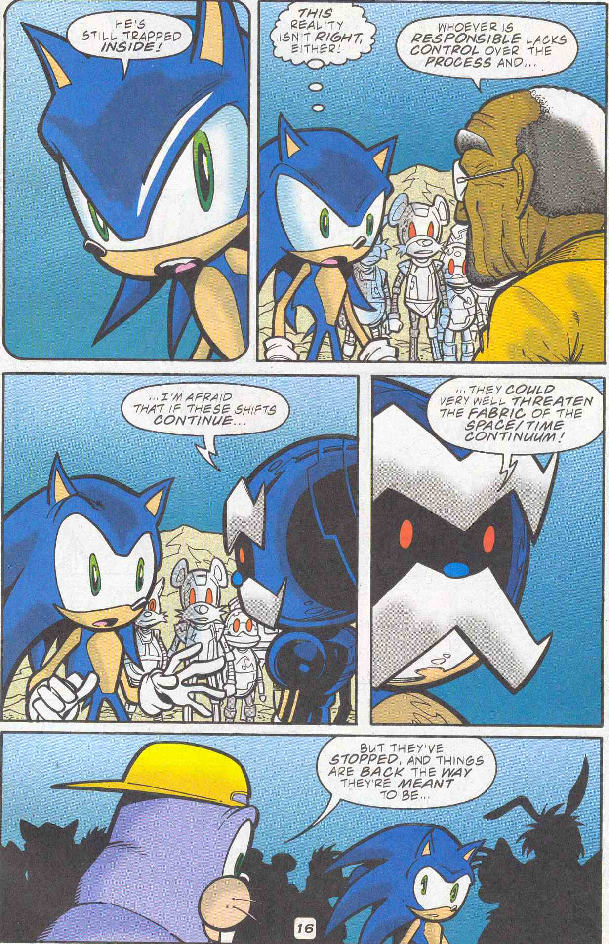 Sonic - Archie Adventure Series November 2001 Page 16