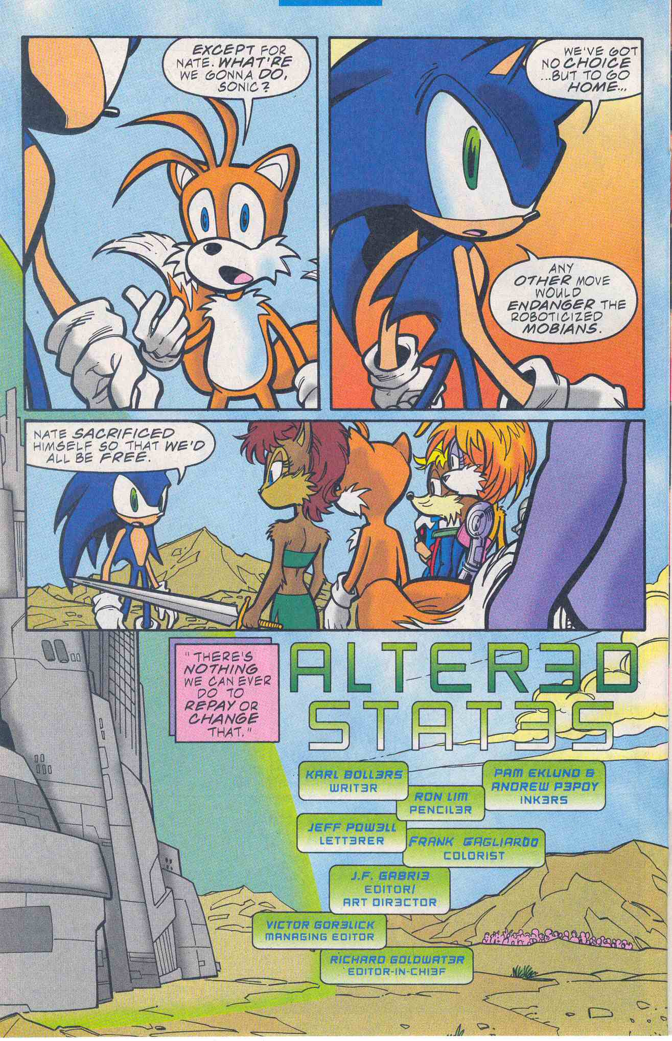 Sonic - Archie Adventure Series November 2001 Page 17