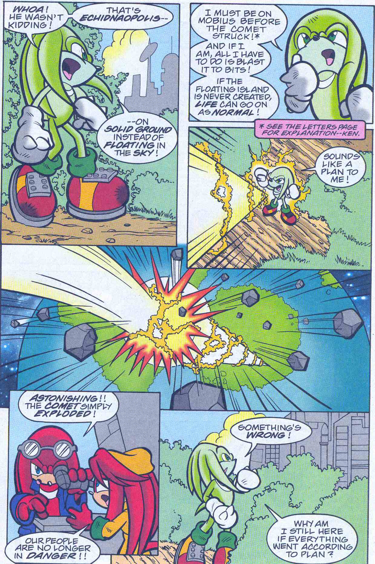 Sonic - Archie Adventure Series November 2001 Page 21