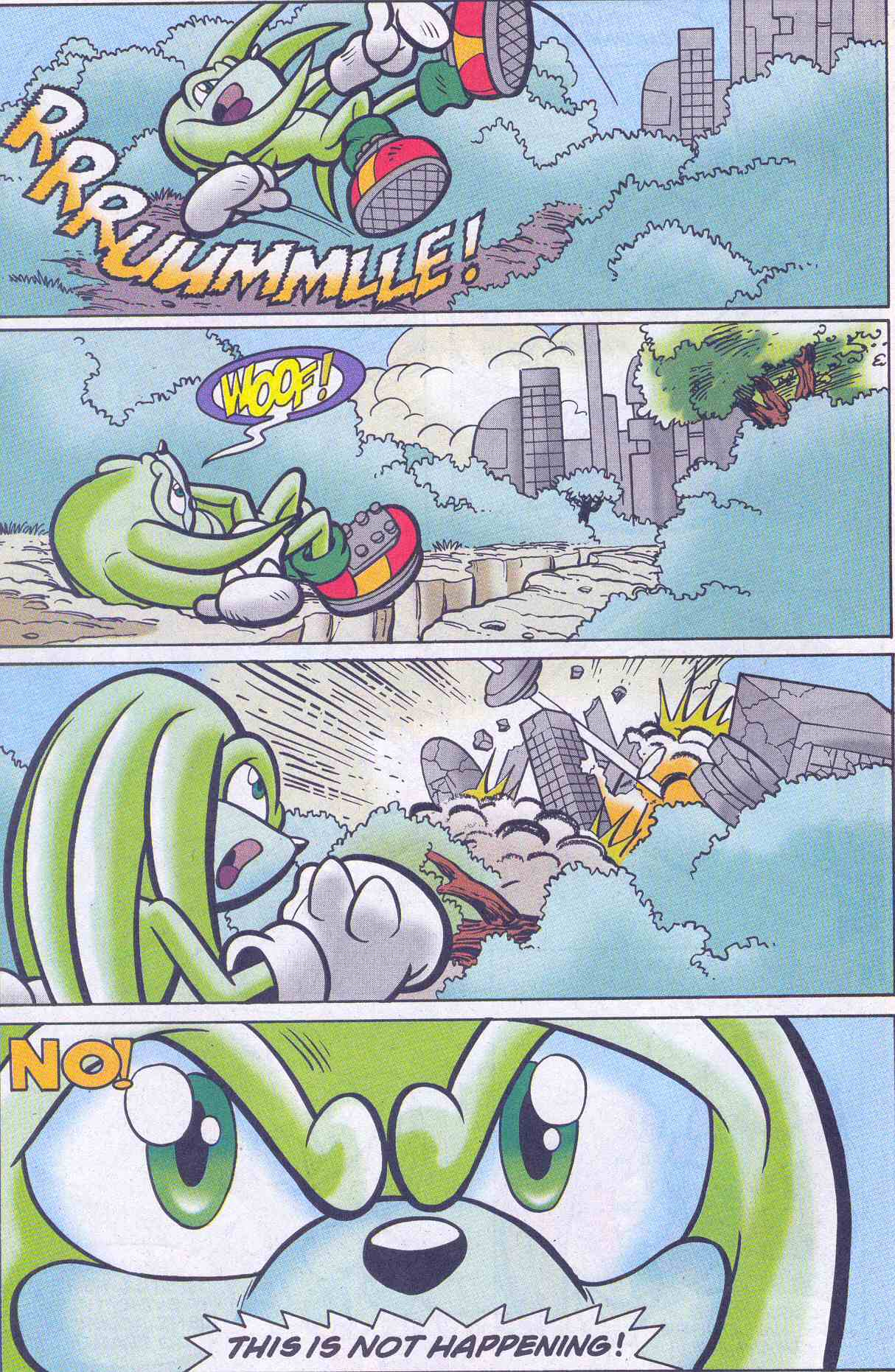 Sonic - Archie Adventure Series November 2001 Page 22
