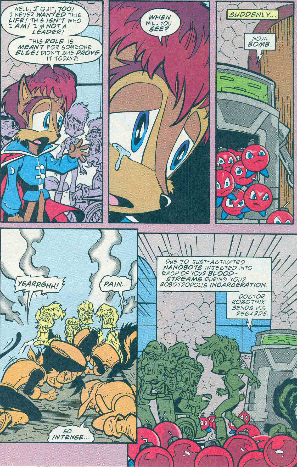 Sonic - Archie Adventure Series December 2001 Page 8