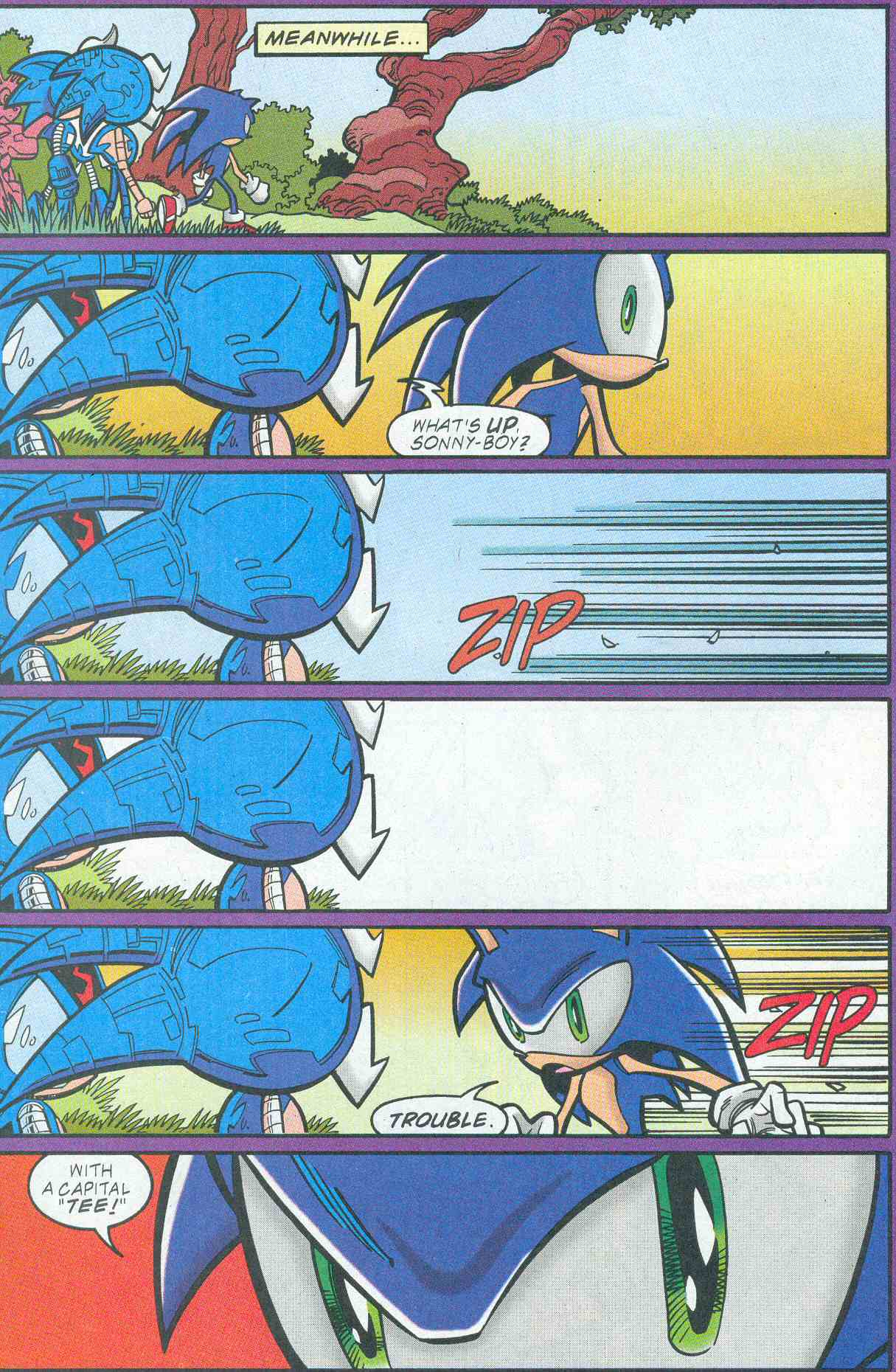 Sonic - Archie Adventure Series December 2001 Page 9