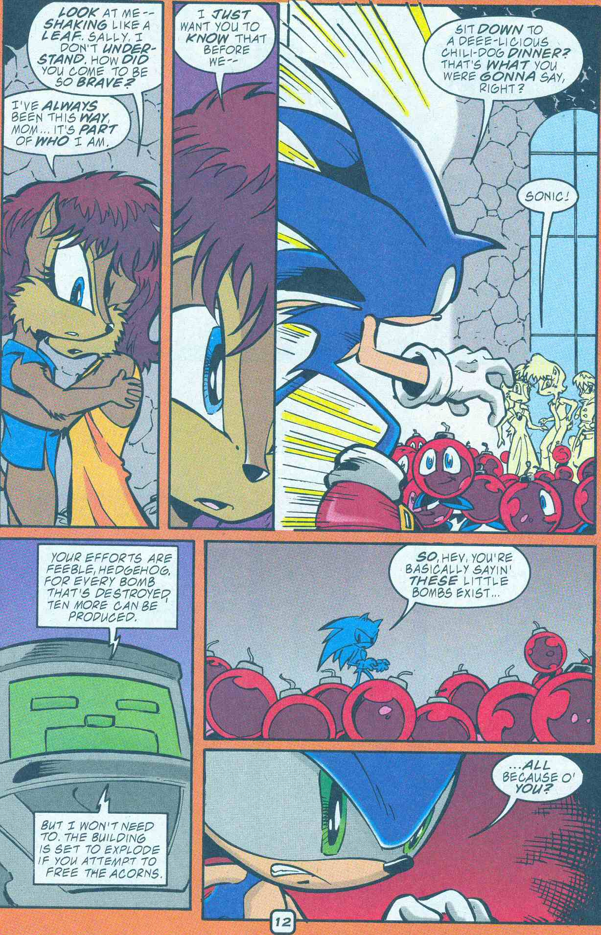 Sonic - Archie Adventure Series December 2001 Page 12