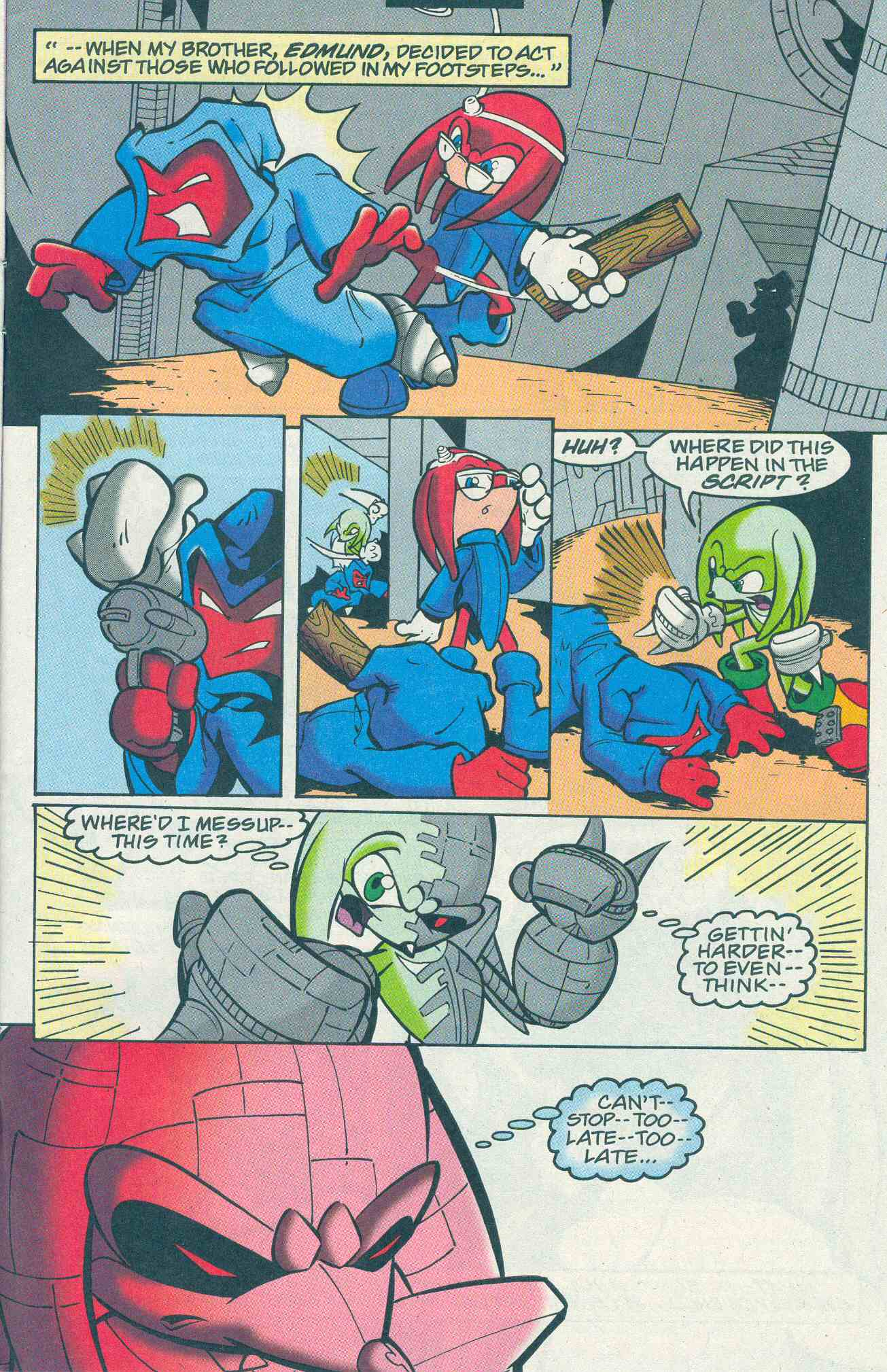 Sonic - Archie Adventure Series December 2001 Page 21