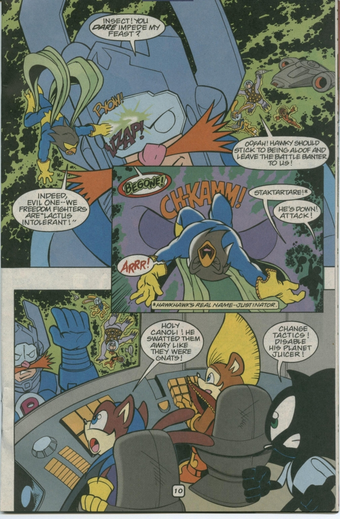 Sonic - Archie Adventure Series February 2002 Page 12