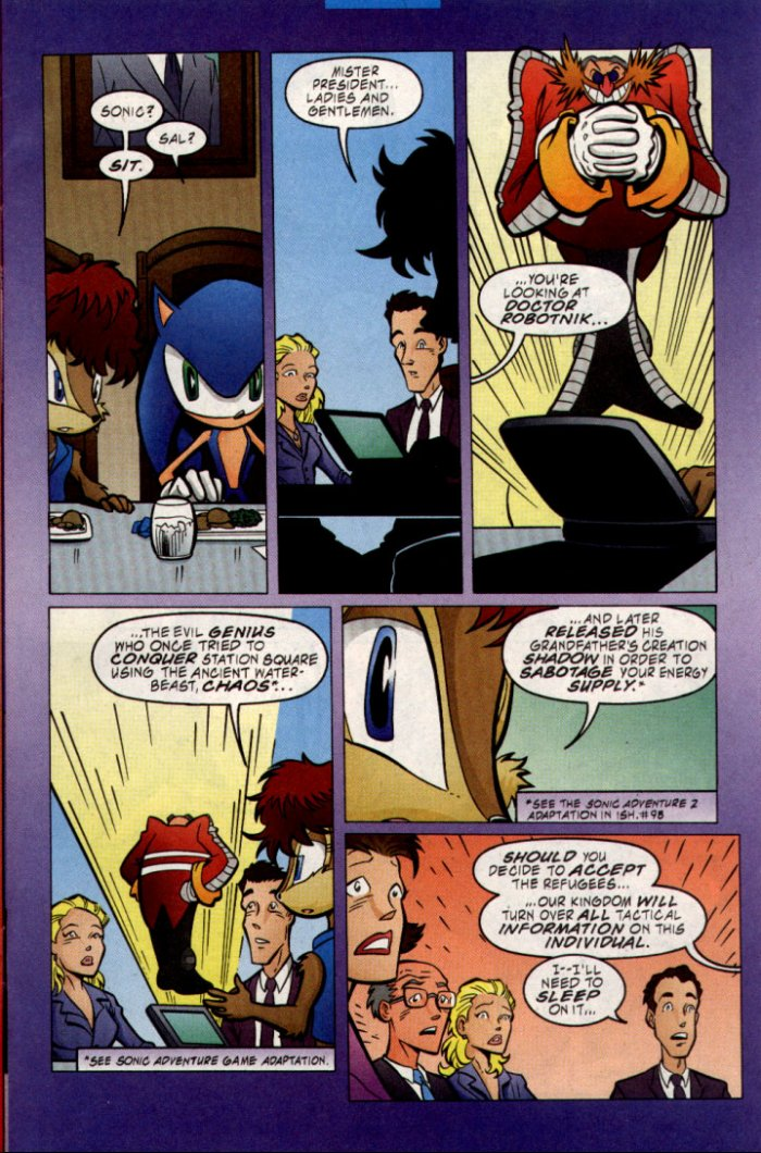 Sonic - Archie Adventure Series April 2002 Page 8