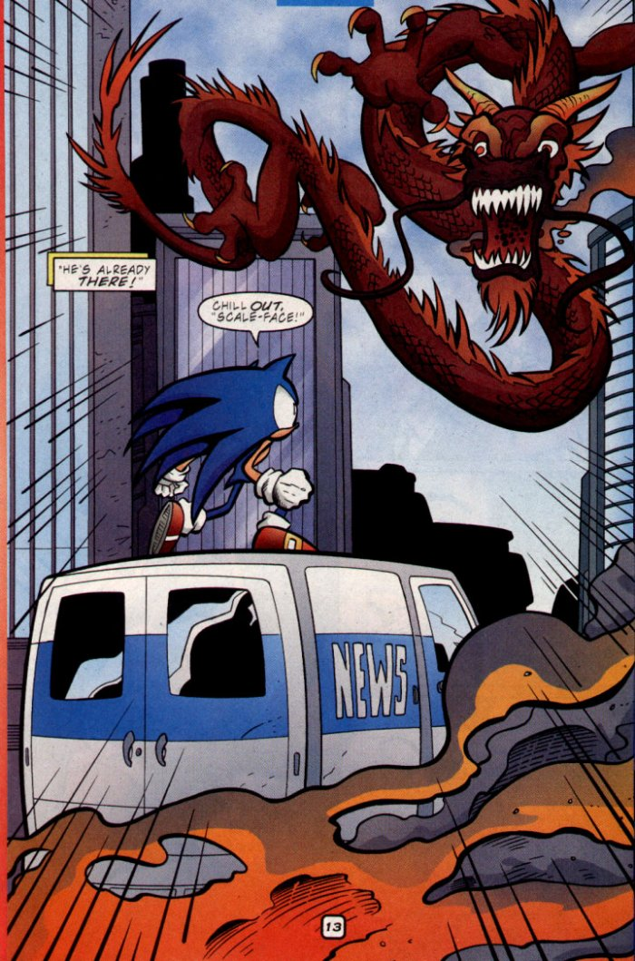 Sonic - Archie Adventure Series April 2002 Page 13