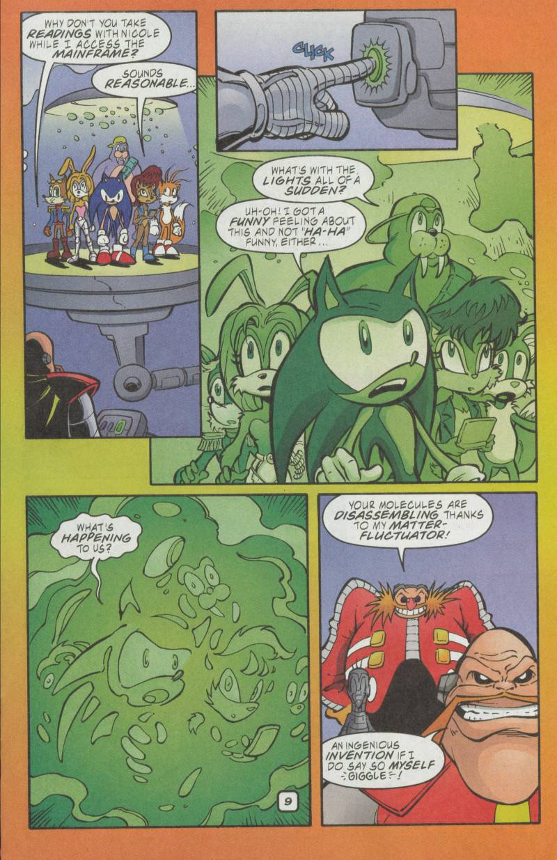 Sonic - Archie Adventure Series May 2002 Page 10