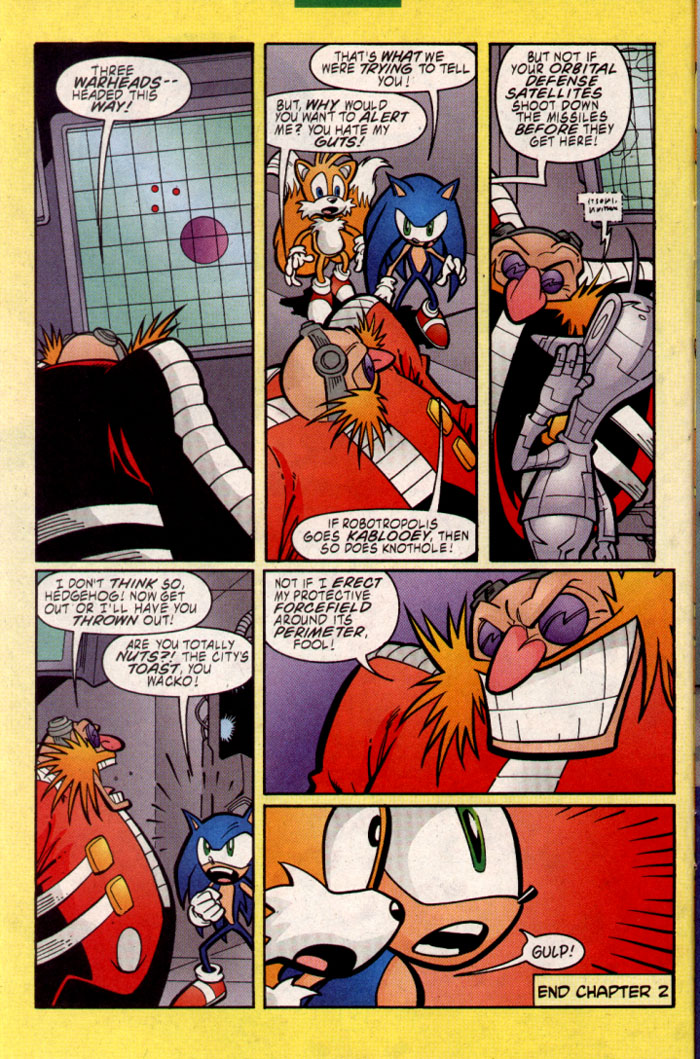 Sonic - Archie Adventure Series July 2002 Page 7