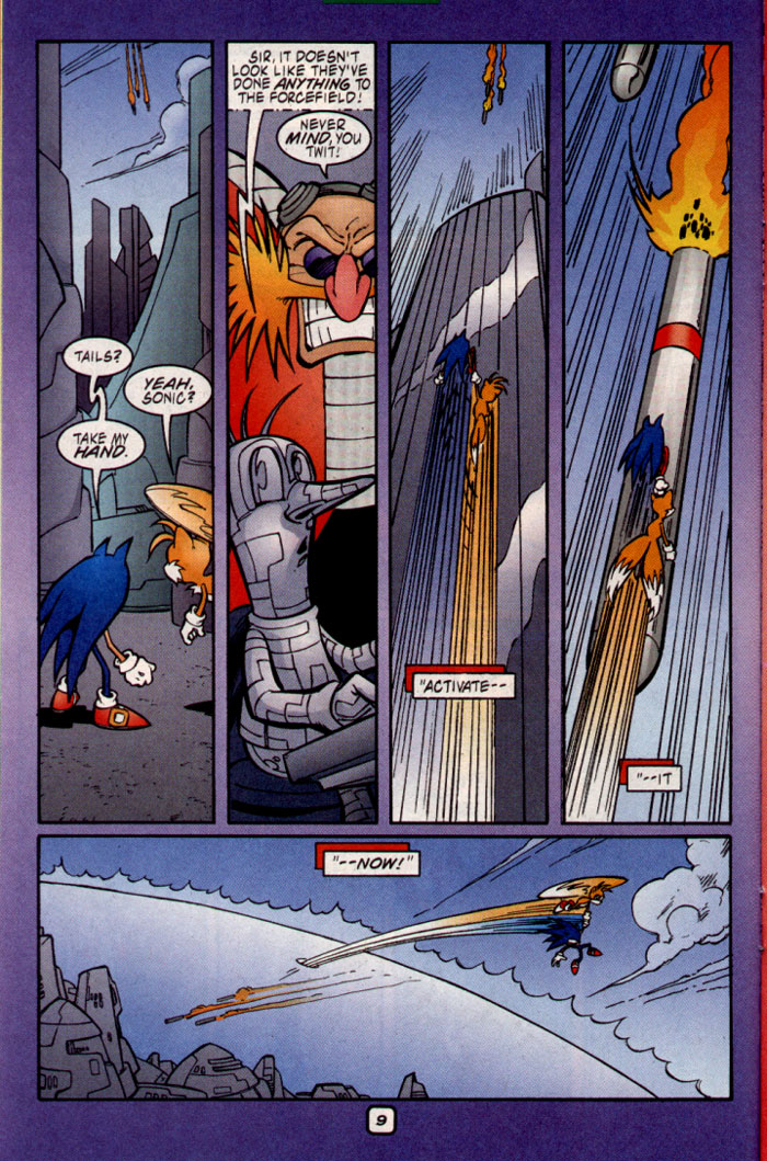Sonic - Archie Adventure Series July 2002 Page 10