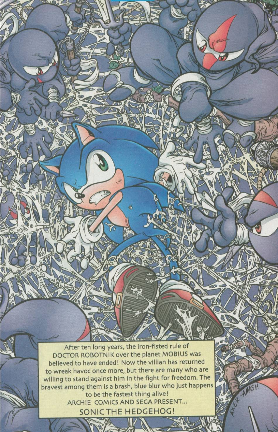 Sonic - Archie Adventure Series August 2002 Page 01