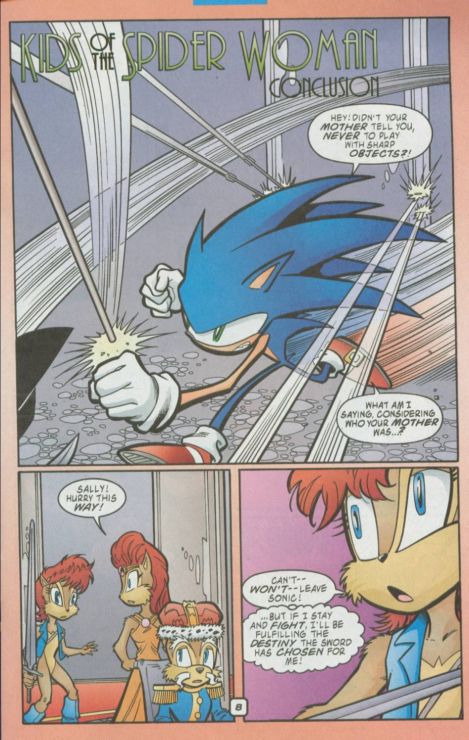 Sonic - Archie Adventure Series August 2002 Page 09