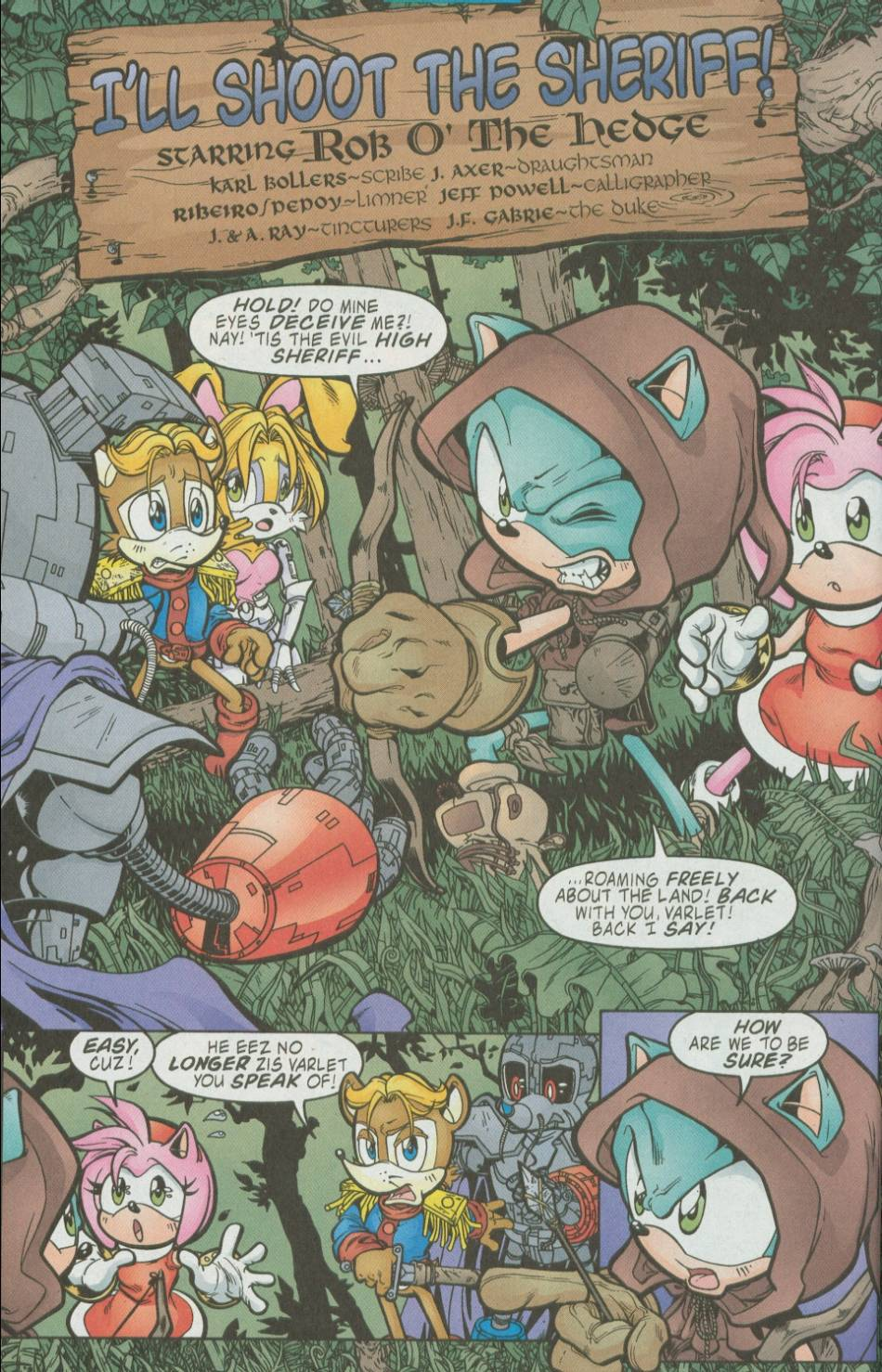 Sonic - Archie Adventure Series August 2002 Page 13