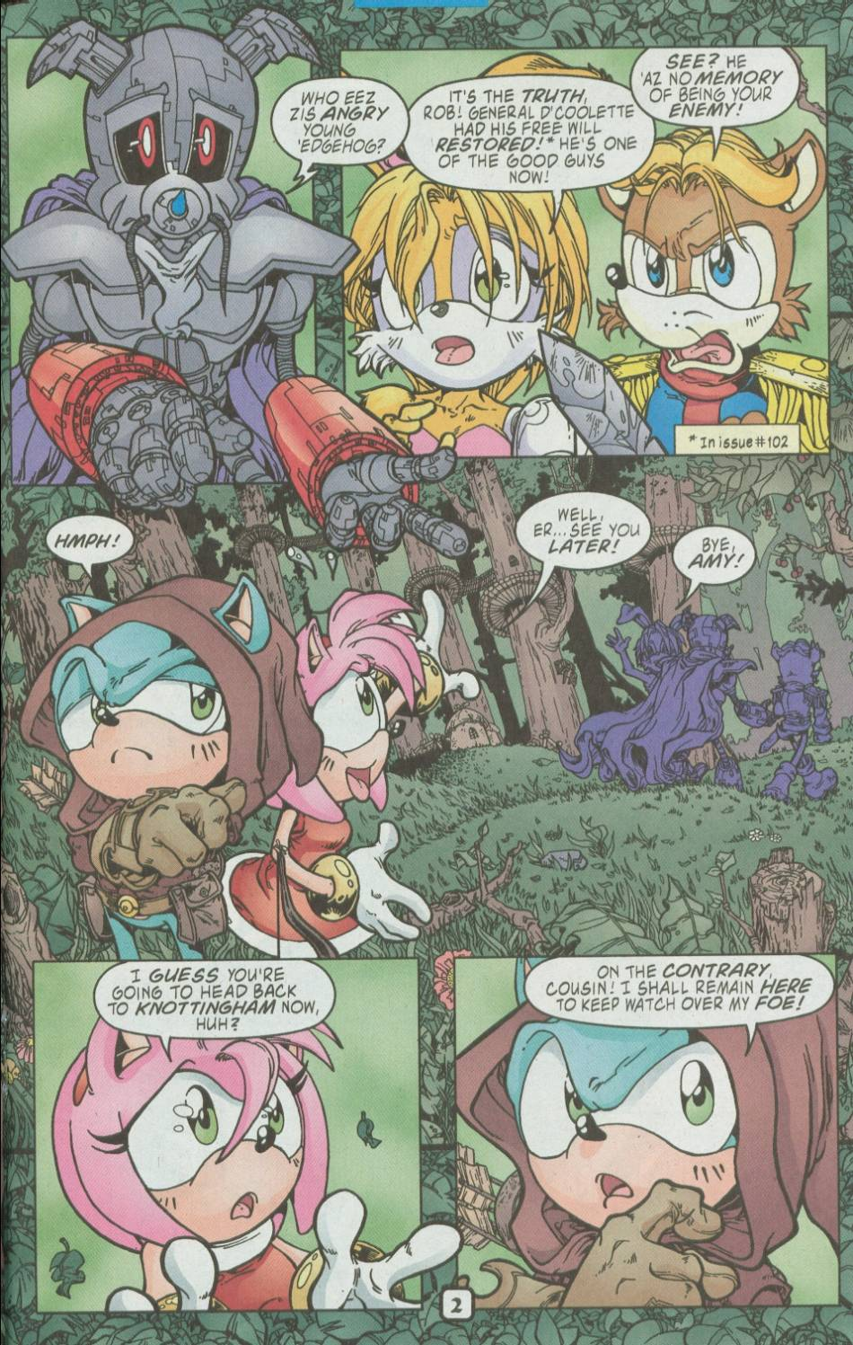 Sonic - Archie Adventure Series August 2002 Page 14