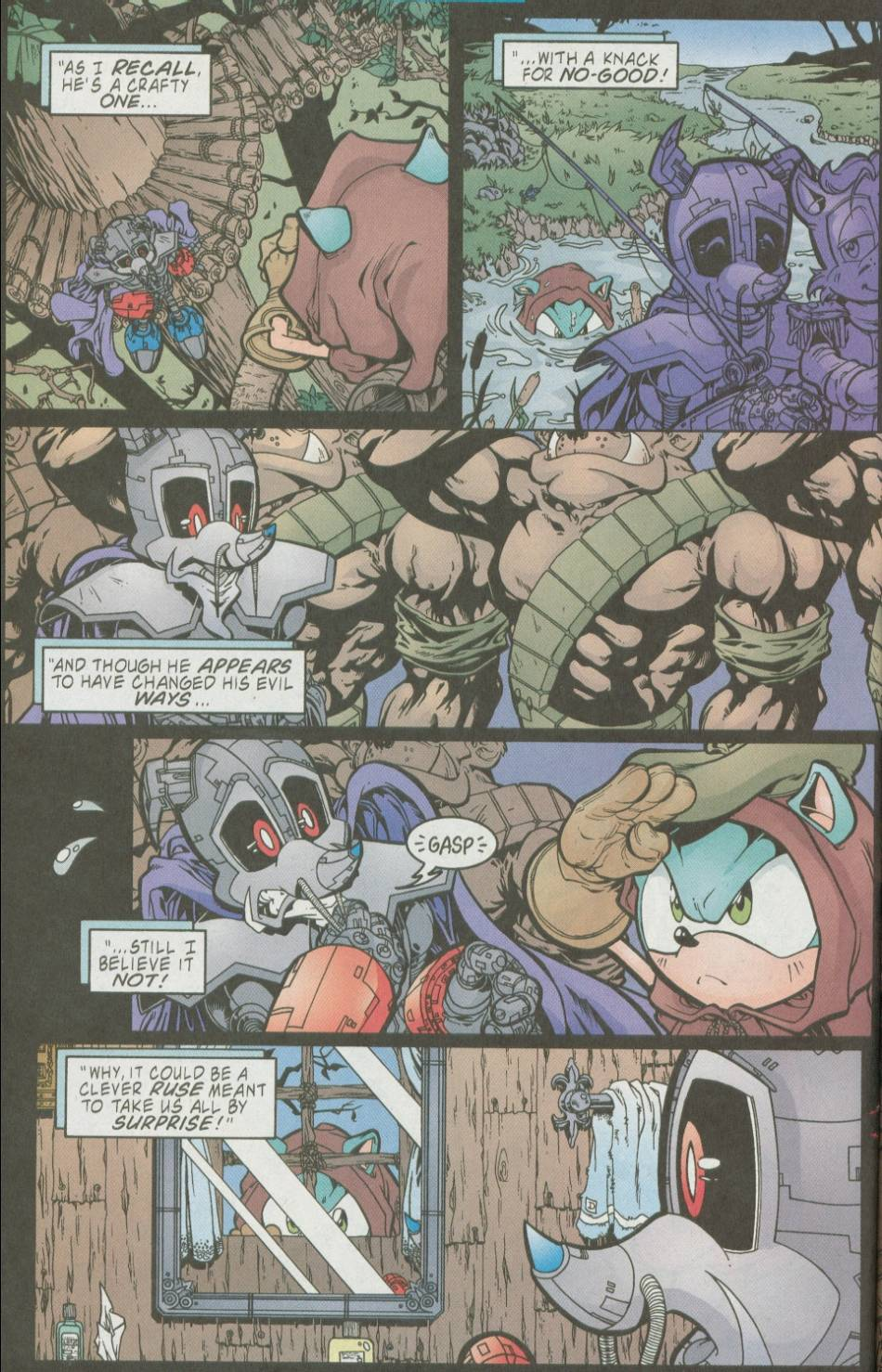 Sonic - Archie Adventure Series August 2002 Page 15
