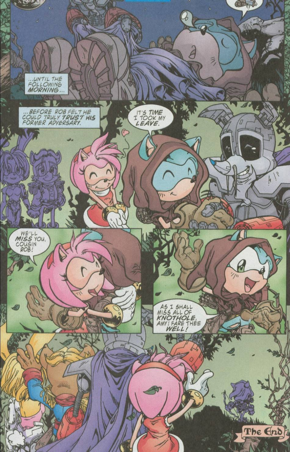 Sonic - Archie Adventure Series August 2002 Page 17