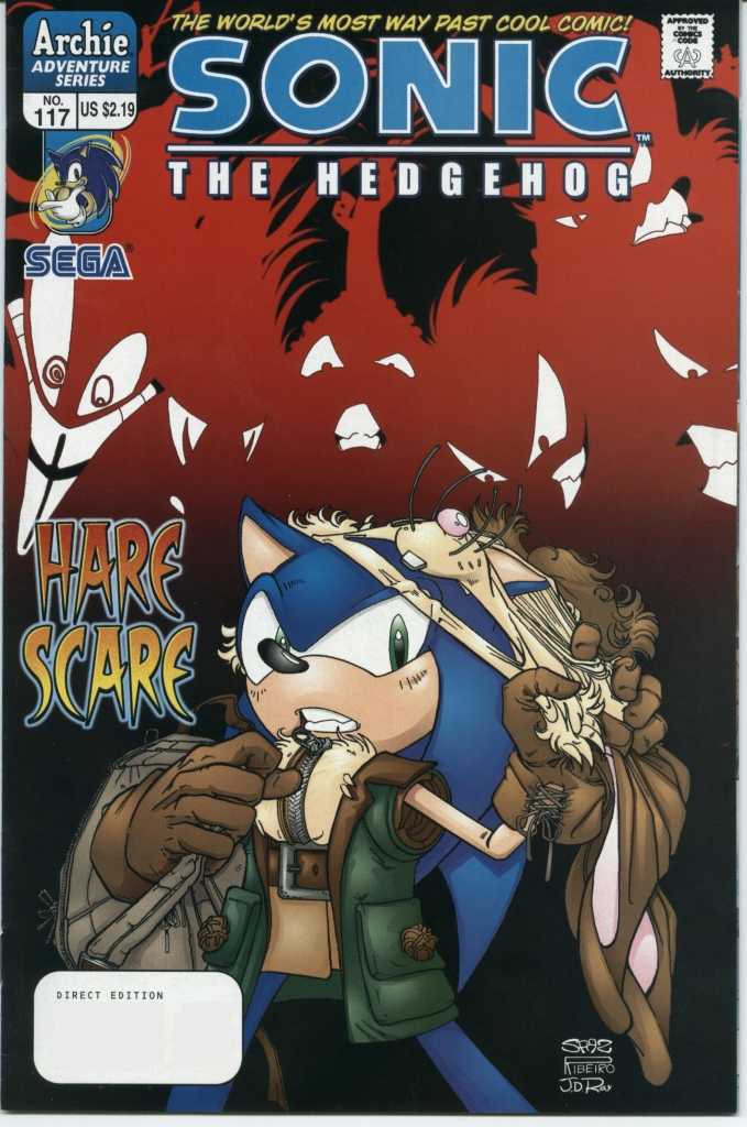 Sonic - Archie Adventure Series February 2003 Cover Page