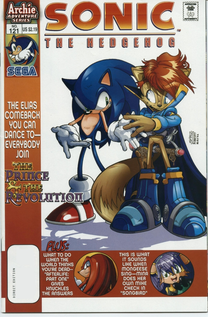 Sonic - Archie Adventure Series May 2003 Cover Page