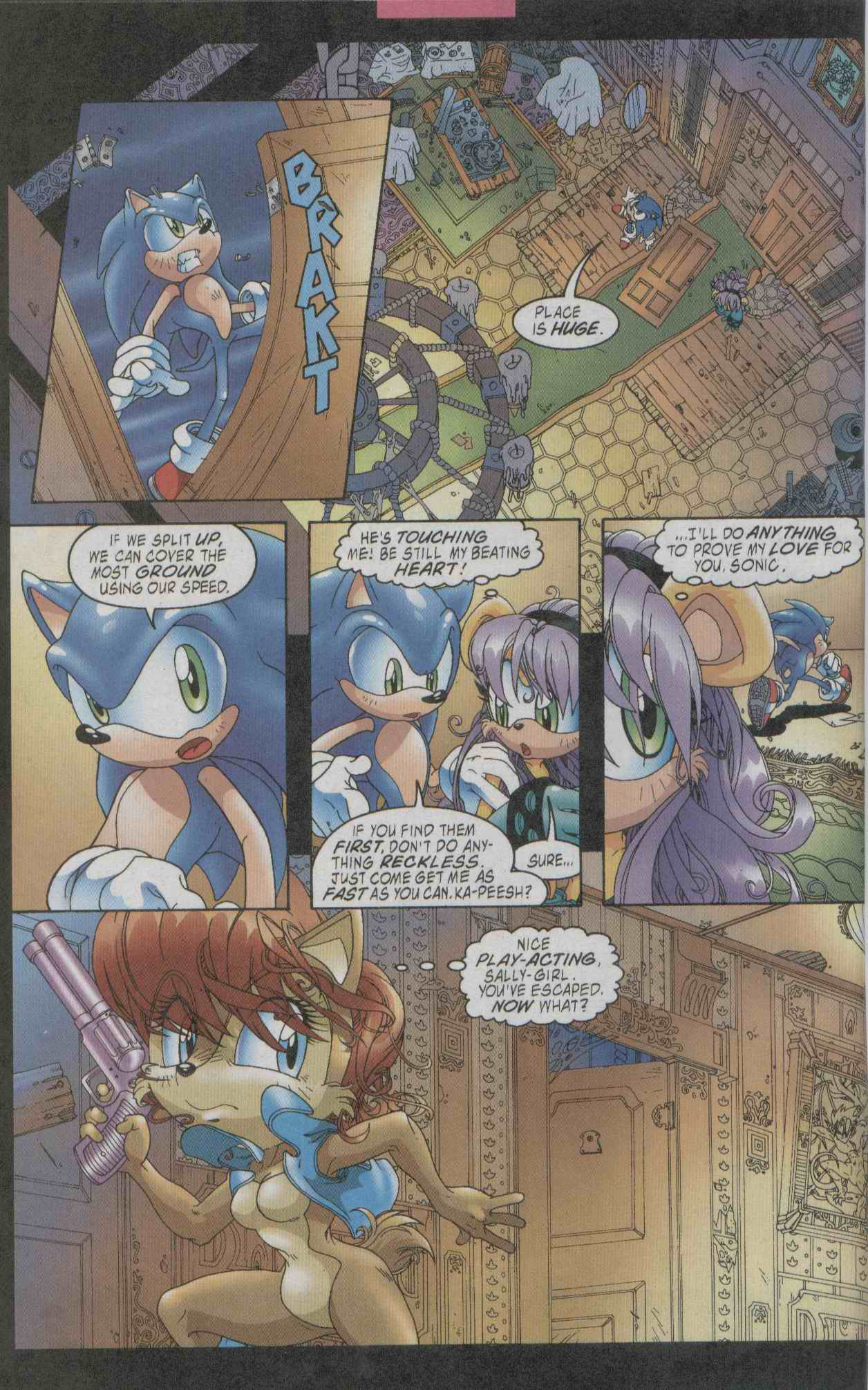 Sonic - Archie Adventure Series July 2003 Page 06