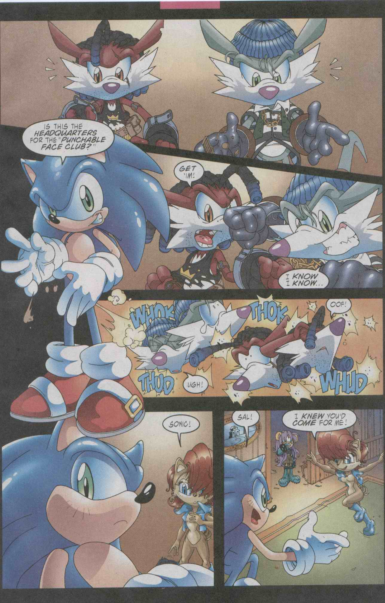 Sonic - Archie Adventure Series July 2003 Page 08