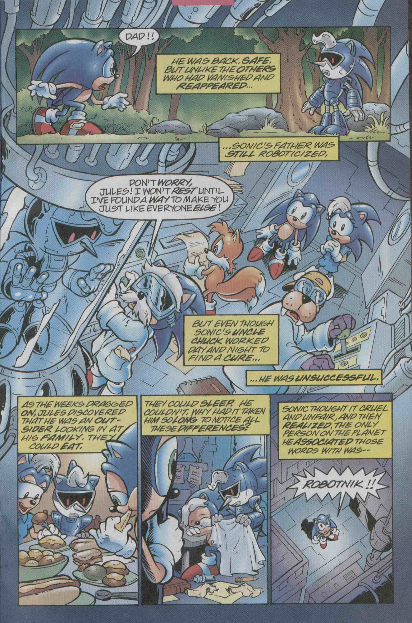 Sonic - Archie Adventure Series July 2003 Page 22