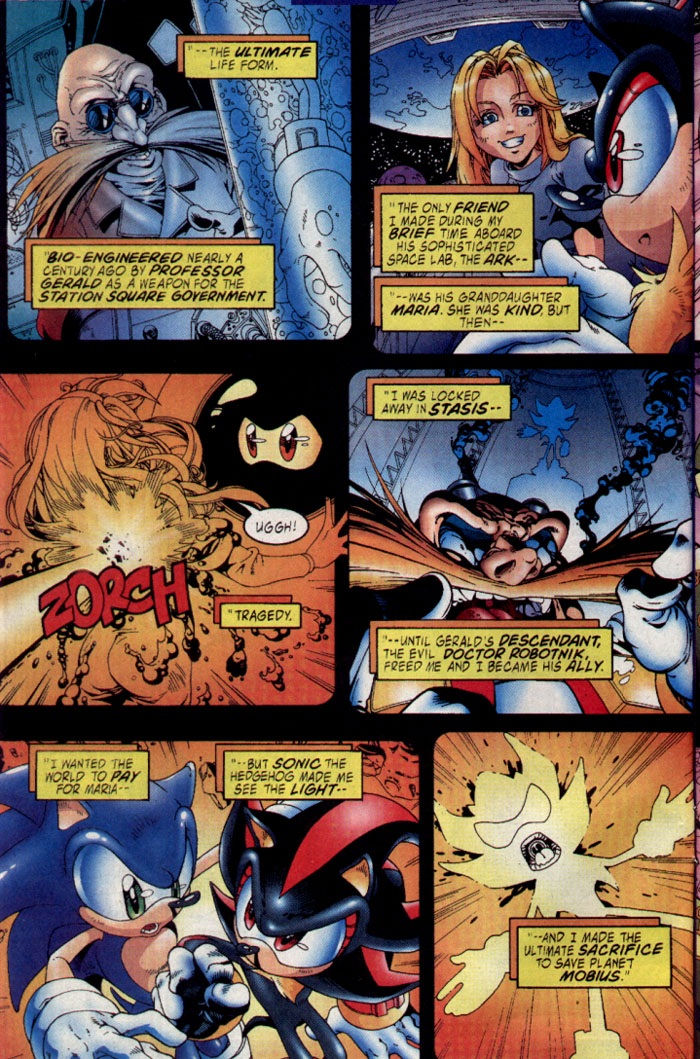 Sonic - Archie Adventure Series July 2003 Page 2