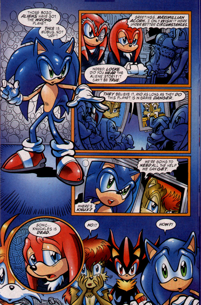 Sonic - Archie Adventure Series July 2003 Page 17