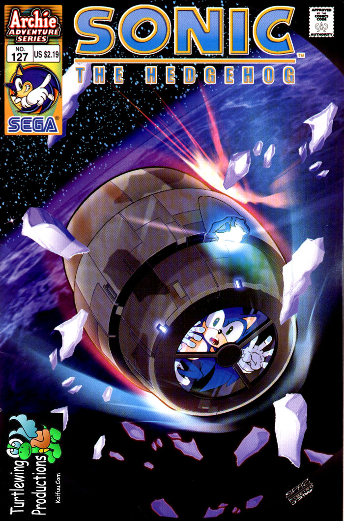 Sonic - Archie Adventure Series November 2003 Comic cover page