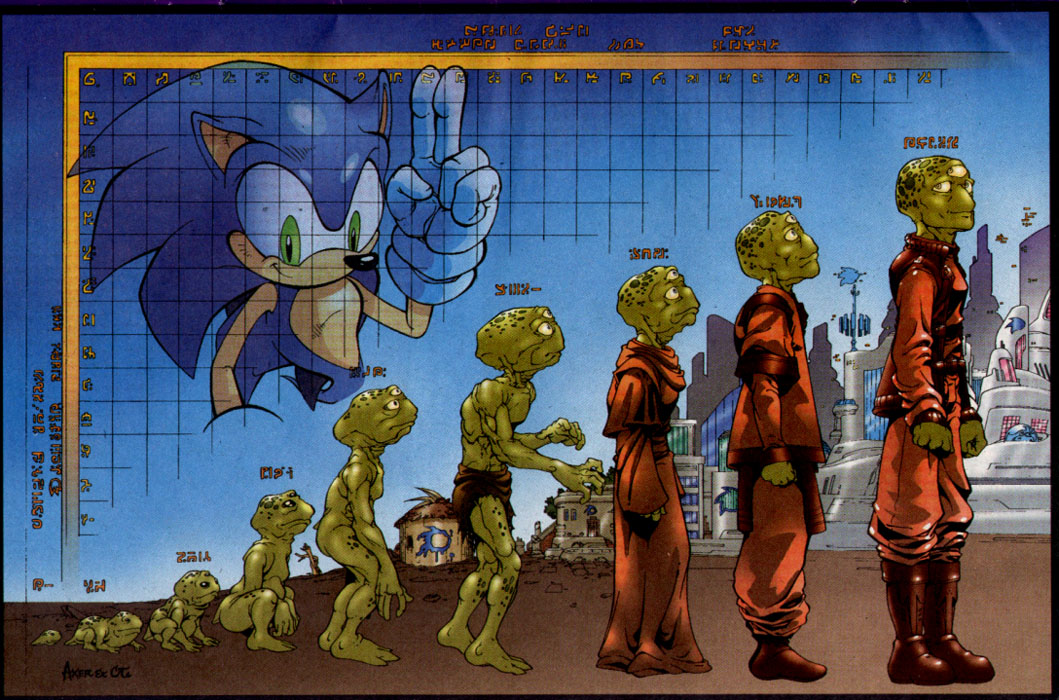 Sonic - Archie Adventure Series November 2003 Page 1