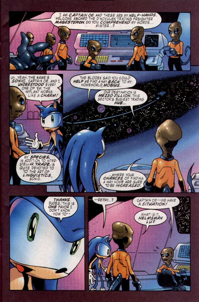 Sonic - Archie Adventure Series November 2003 Page 3