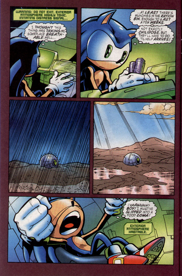 Sonic - Archie Adventure Series November 2003 Page 9
