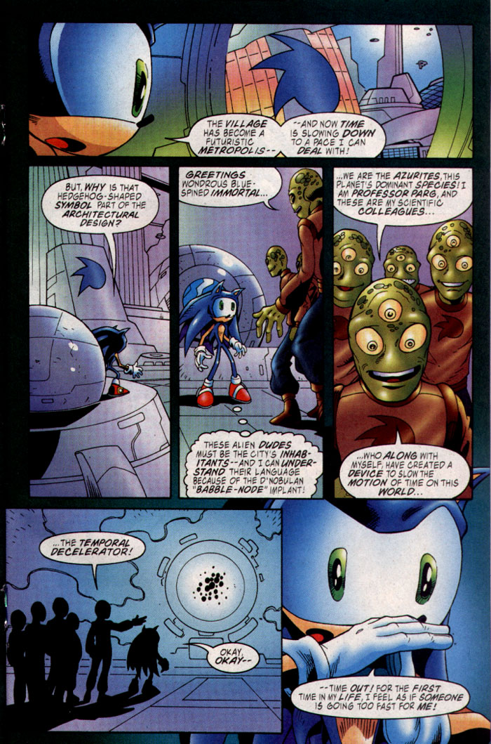 Sonic - Archie Adventure Series November 2003 Page 14