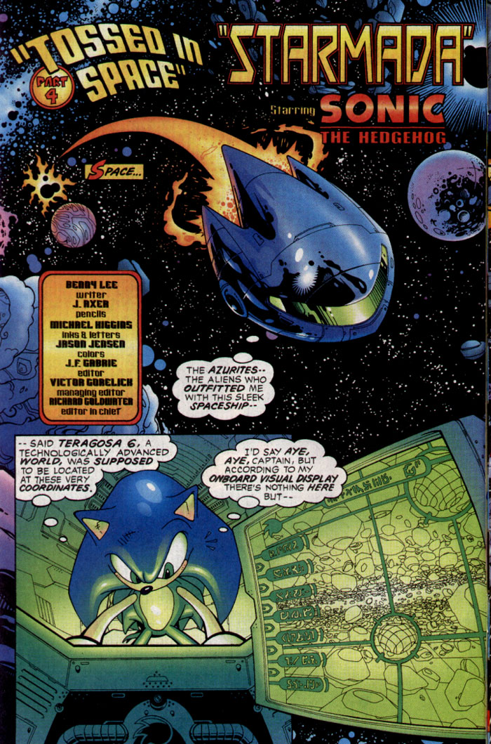 Sonic - Archie Adventure Series December 2003 Page 2