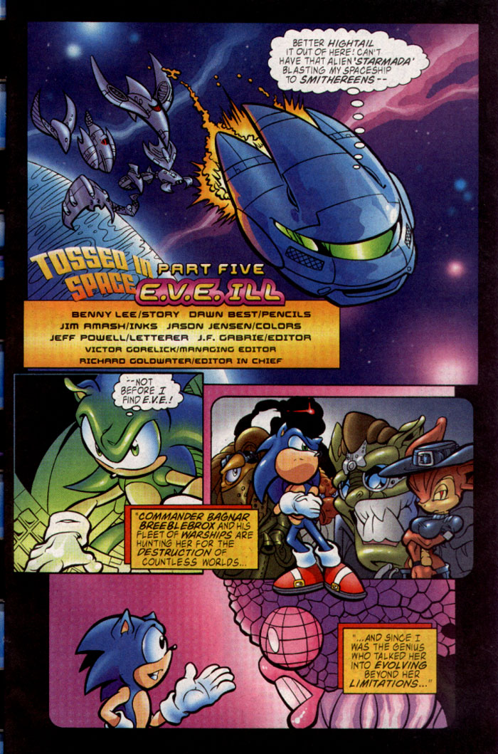 Sonic - Archie Adventure Series December 2003 Page 8