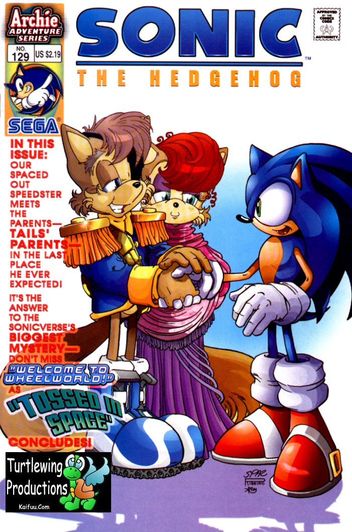 Sonic - Archie Adventure Series January 2004 Cover Page