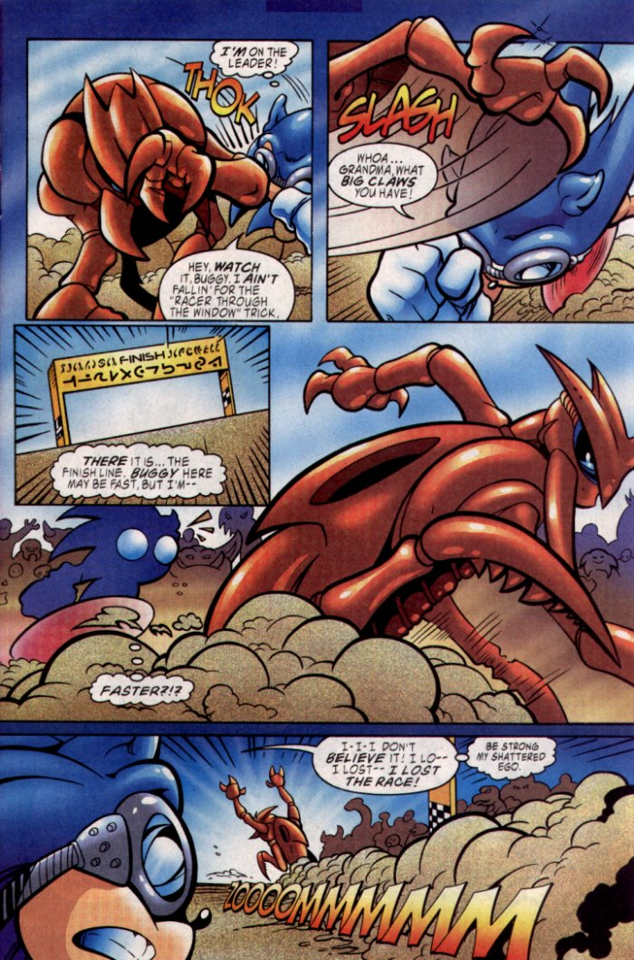 Sonic - Archie Adventure Series January 2004 Page 5