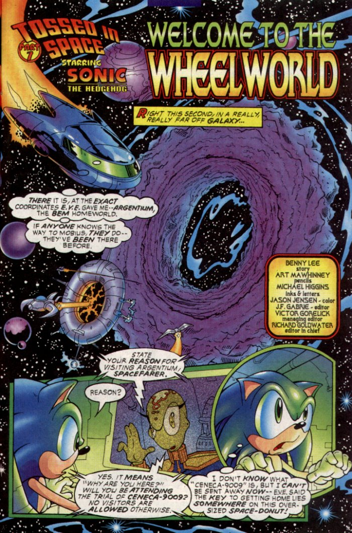 Sonic - Archie Adventure Series January 2004 Page 8