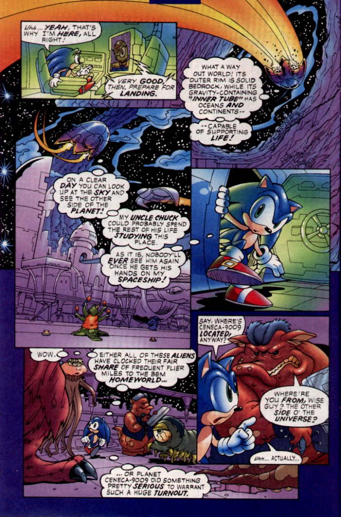 Sonic - Archie Adventure Series January 2004 Page 9