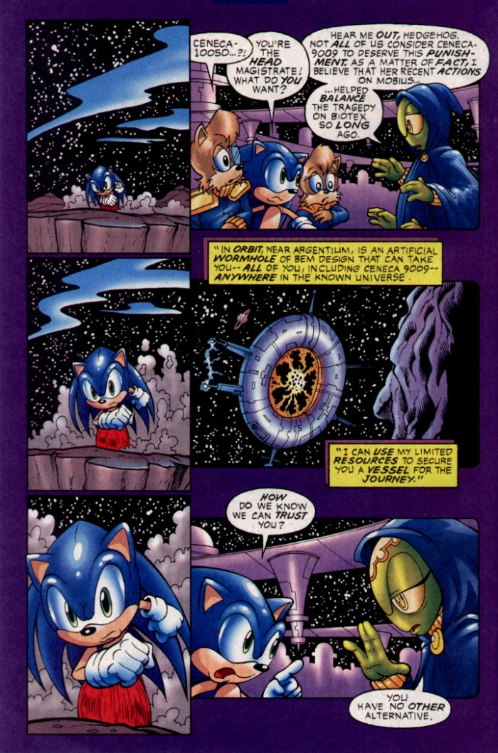 Sonic - Archie Adventure Series January 2004 Page 19