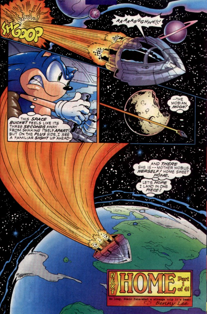 Sonic - Archie Adventure Series January 2004 Page 24