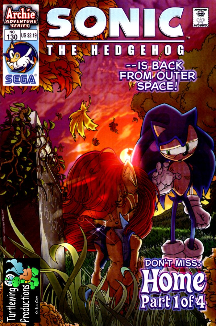 Sonic - Archie Adventure Series February 2004 Cover Page