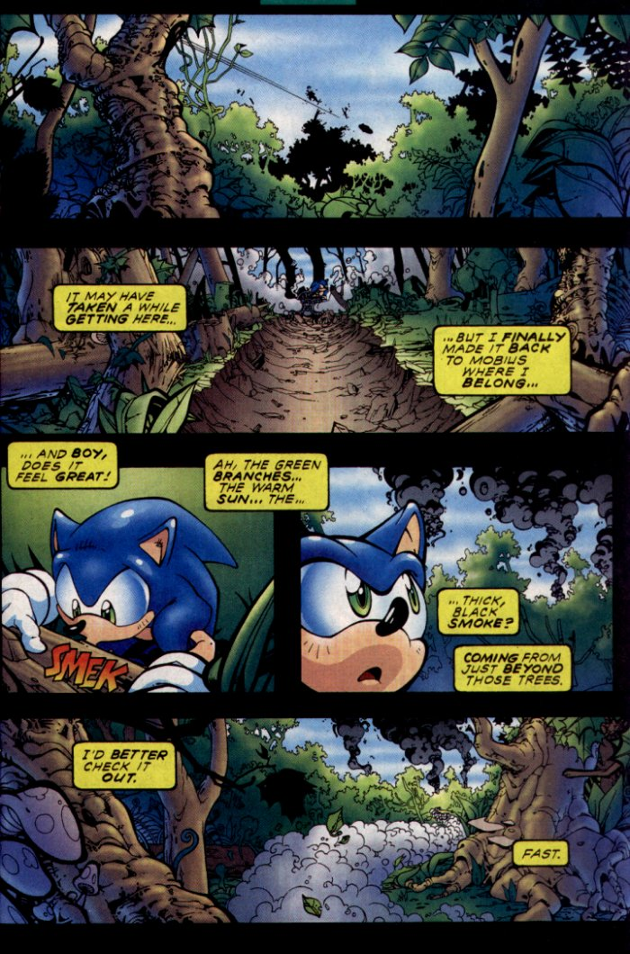 Sonic - Archie Adventure Series February 2004 Page 3