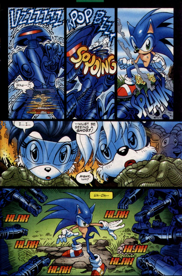 Sonic - Archie Adventure Series February 2004 Page 5