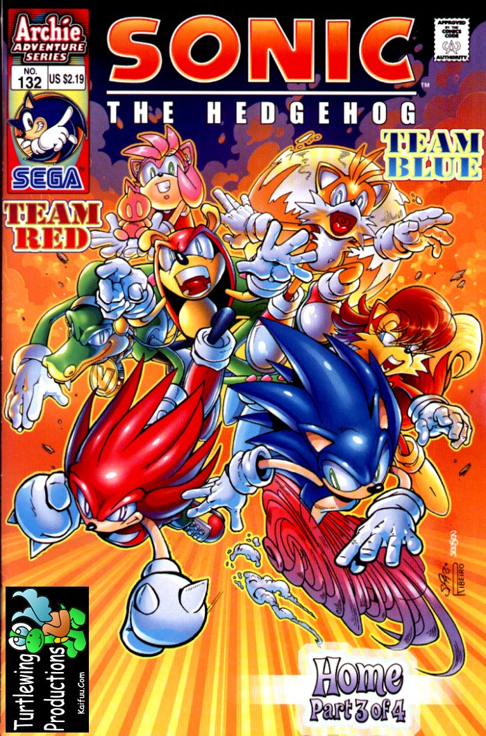 Sonic - Archie Adventure Series March 2004 Cover Page
