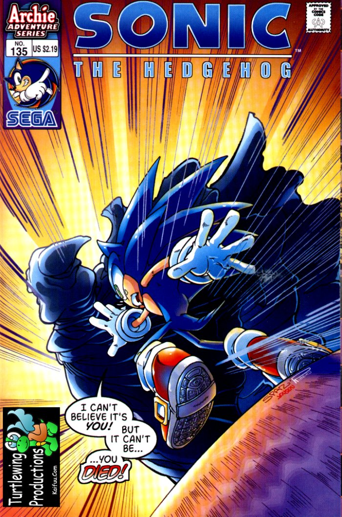 Sonic - Archie Adventure Series June 2004 Cover Page
