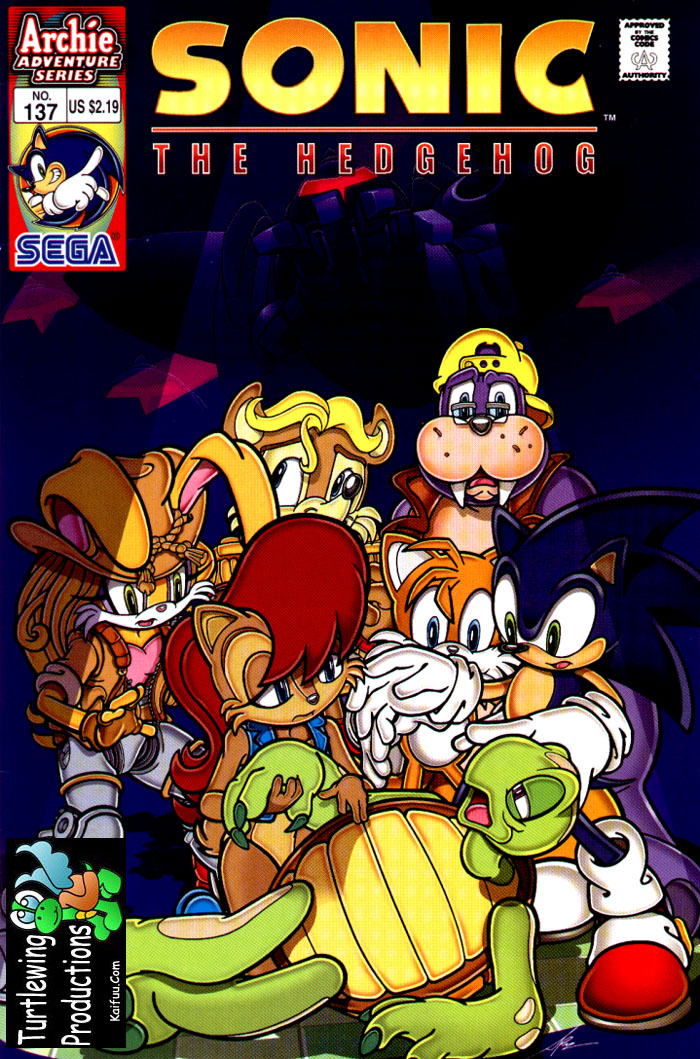 Sonic - Archie Adventure Series August 2004 Comic cover page